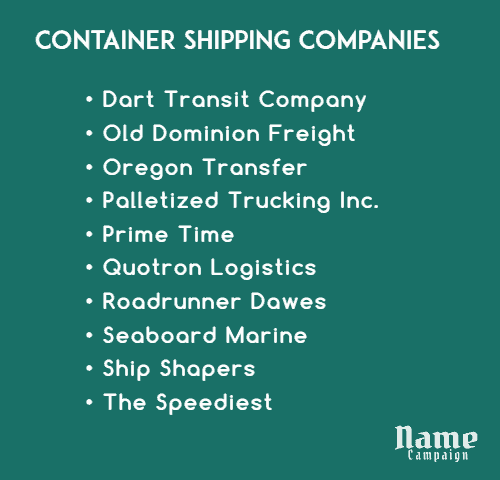 biggest shipping companies
