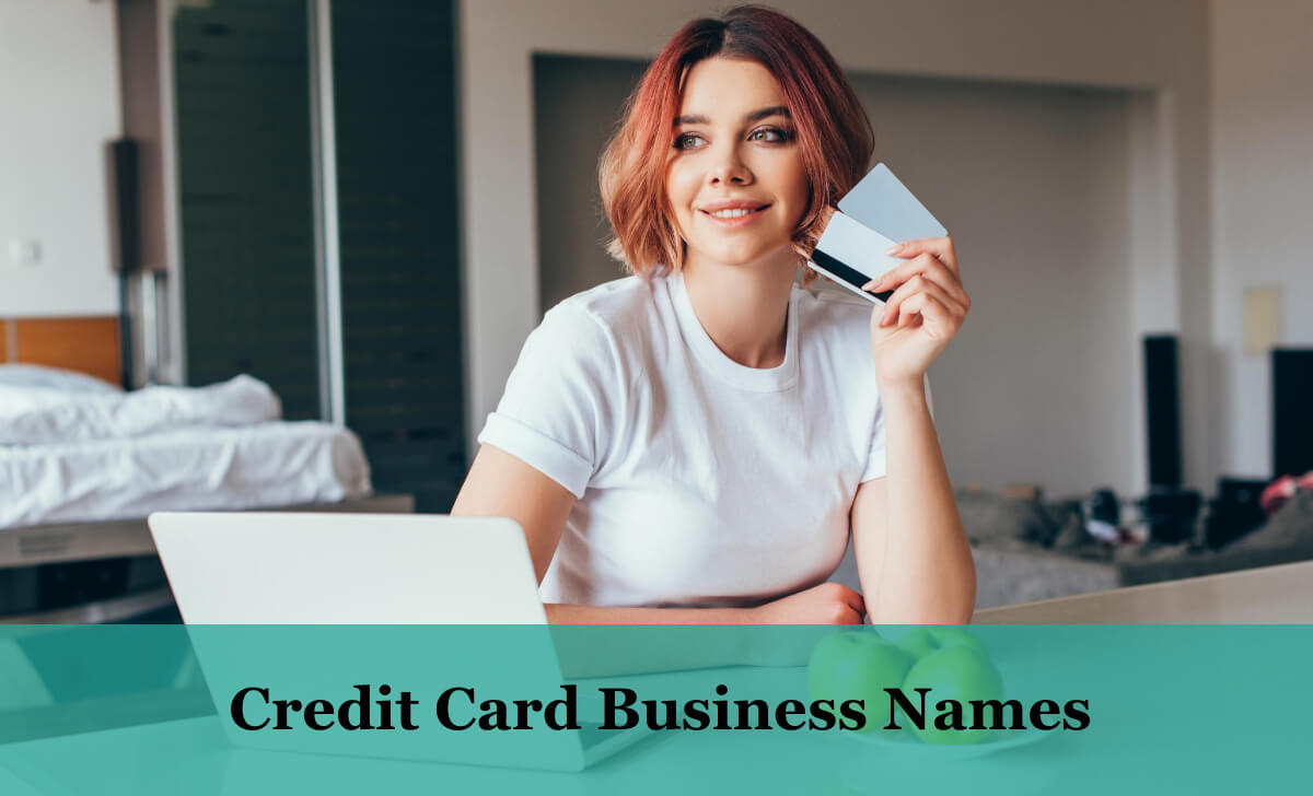 Credit Card Business Names Ideas